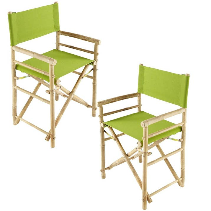 A Pair Of Updated Directors Chairs Wont Blend In With The Rest Your Office Furniture