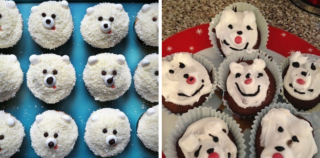 Maybe you just wanted to make some cute polar bear cupcakes, but they turned into a melted mess.