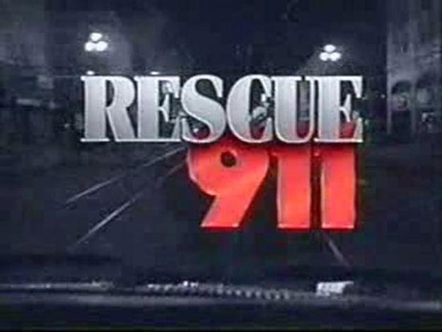 Sí, igualito quel el número de tu programa favorito de la infancia Rescate 911.