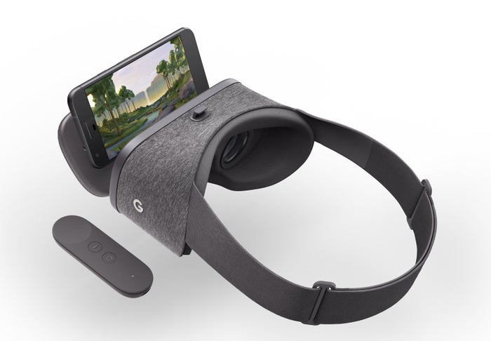 "Pixel, which starts at $649, is the first smartphone designed and manufactured entirely by Google, and will be the only ""Daydream-ready device"" at launch. Google is working with Samsung, HTC, ZTE, Huawei, Xiaomi, Alcatel, Asus, and LG on smartphones that will also compatible with the headset in the future. Unlike Cardboard, Daydream View will not be compatible with iOS devices."