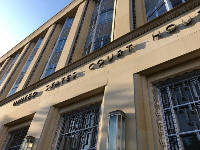 The federal courthouse in Fort Worth, Texas.