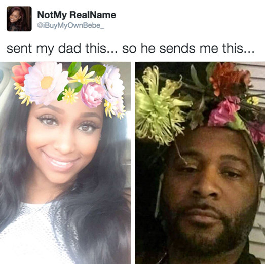 When this dad replied to his daughter.