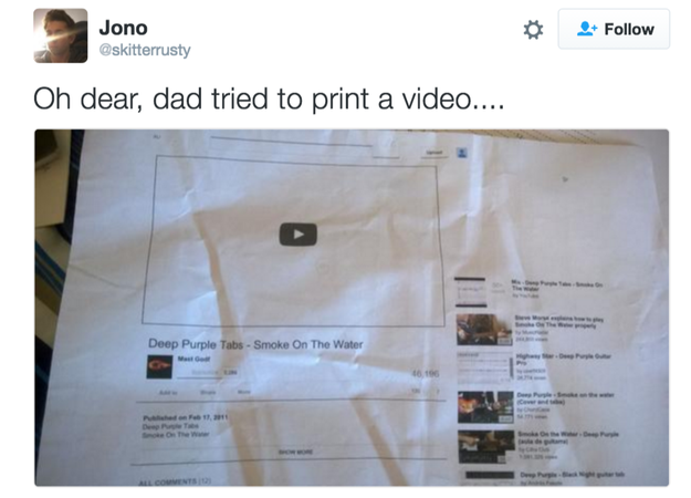 When this dad failed at YouTube.