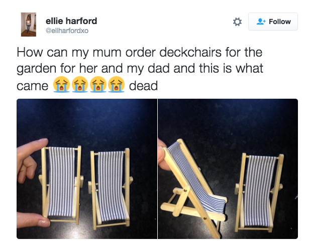 When this mum didn't get what she expected.