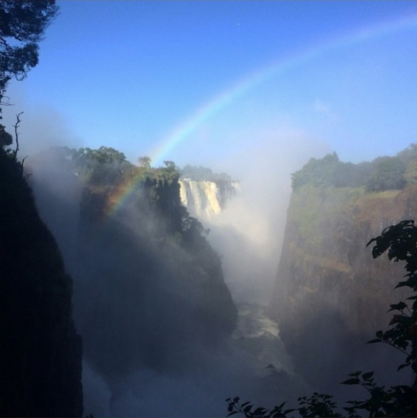 """Studied abroad in Southern Africa, tough to choose just one…decided to go with Victoria Falls!""—clairemk14"