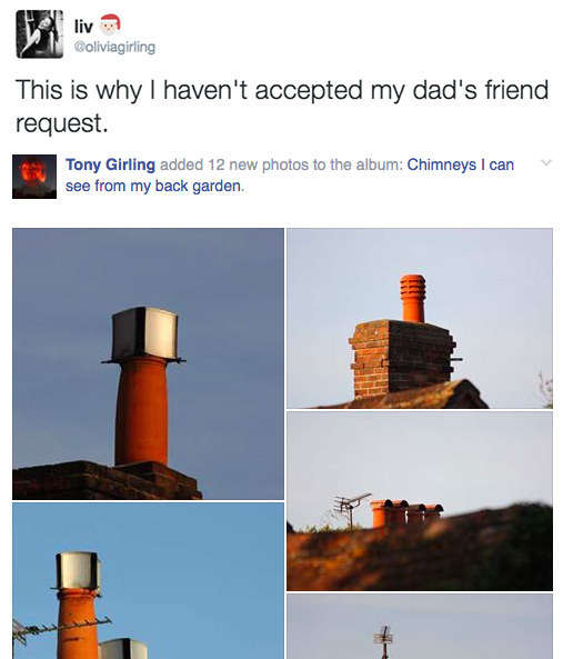 When this dad found Facebook.