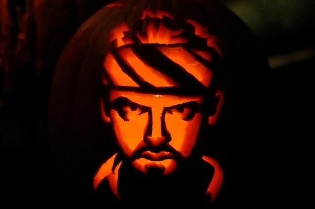 Shaun of the Dead Pumpkin
