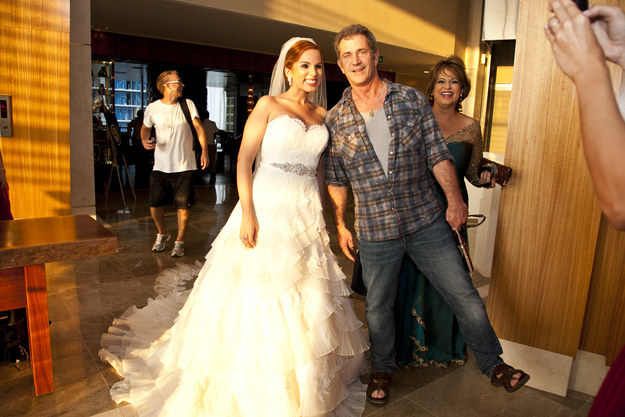 mel gibson and the bride