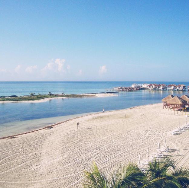 Estas caba as sobre el mar en m xico son el verdadero for Cabanas sobre el mar en mexico