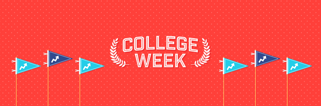 "Welcome to College Week! From October 15th — 22nd, we'll be celebrating the ""best four years of your life,"" and we'd love for you to show your college pride and share your experiences with us!"