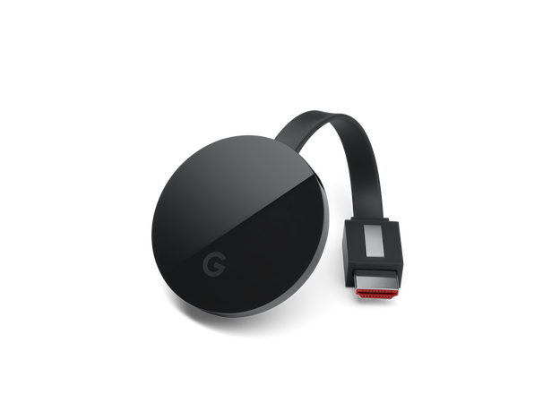 El tercer dispositivo es el Chromecast Ultra.