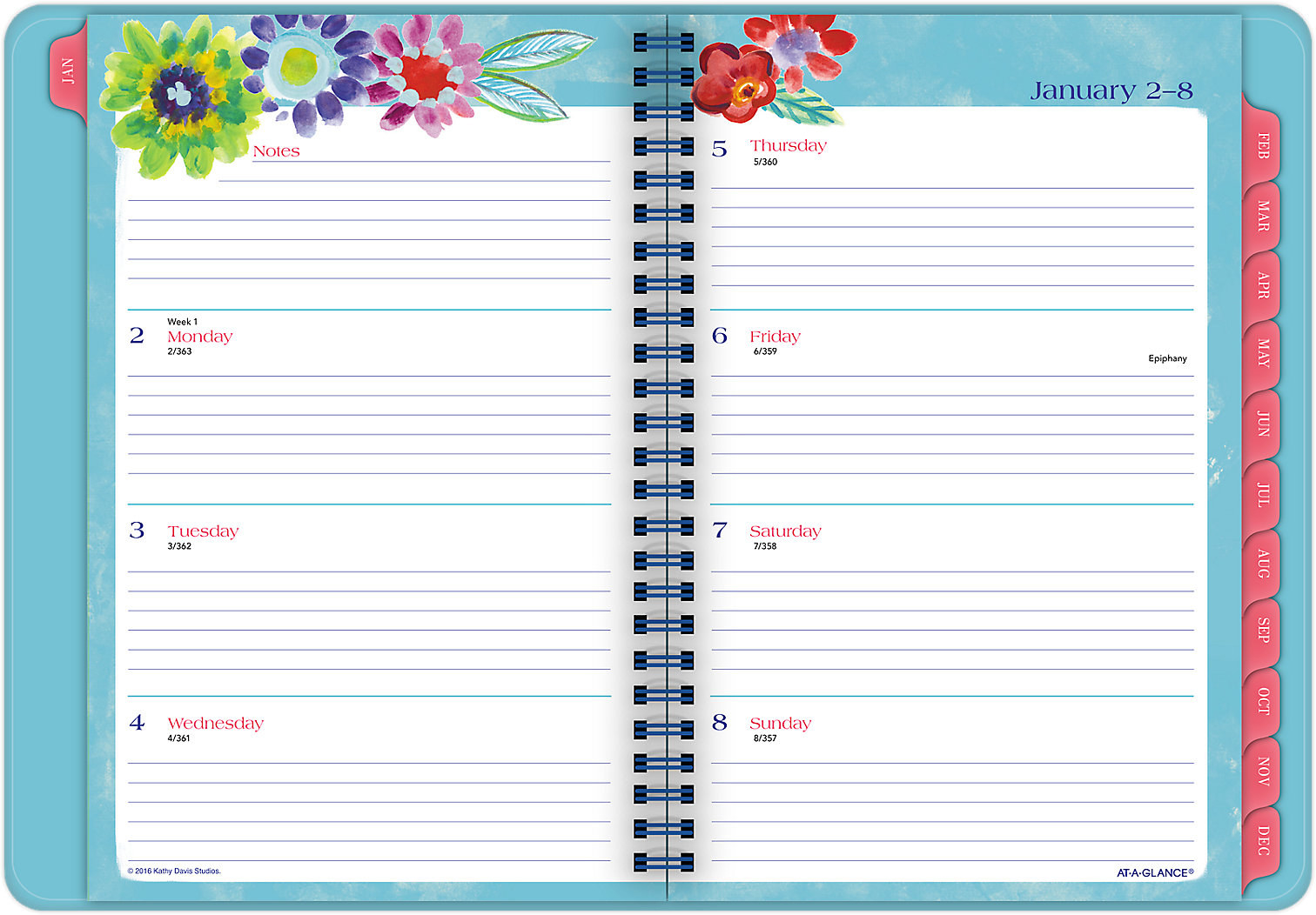 daily planner with times