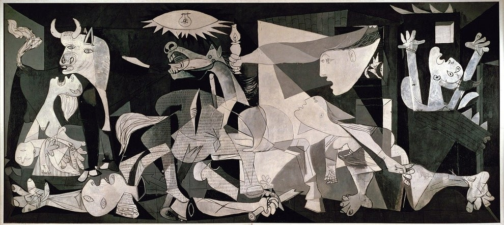 "Pablo Picasso's ""Guernica"" is one of the most famous anti-war paintings in the world."