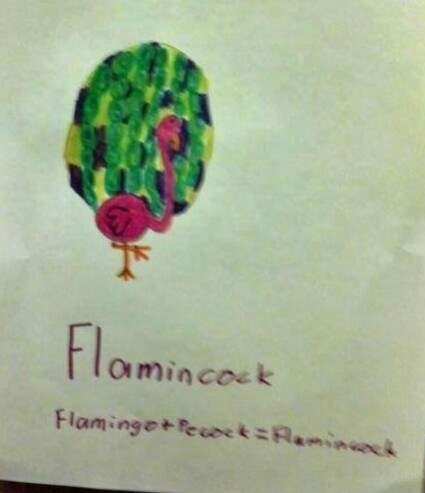 This is what's known as a Flamincock.
