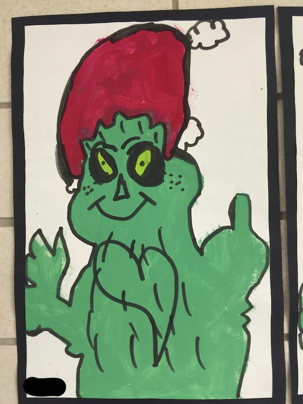 This Grinch, wishing us all a Merry fucking Christmas.
