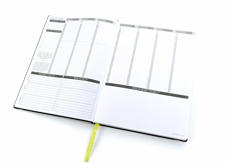 planner with time slots