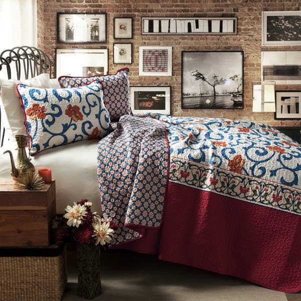 Get this bedding here.