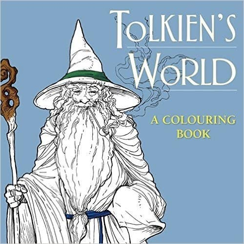 Color The Creatures And Places From Tolkiens World In This Preciousss Book