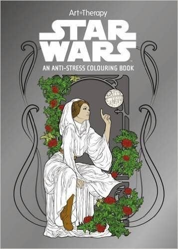Travel To A Galaxy Far Away With This Anti Stress Coloring Book466 At Amazon