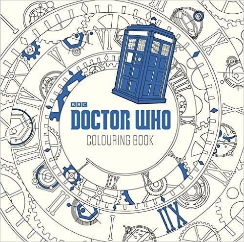 Do Some Wibbly Wobbly Timey Wimey Coloring With This Book796 At Amazon