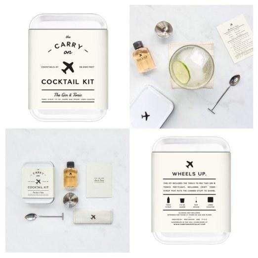 El kit para llevar contigo lo necesario para un buen coctel ($1160).