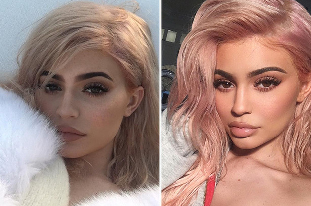 Kylie Jenner S New Rose Gold Hair Really Is Something