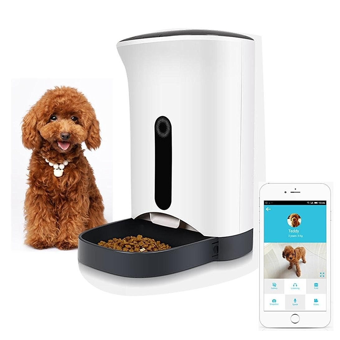 With The Hoohi Pet Feeder, You Can Schedule Exact Feeding Times For Your  Cat Or