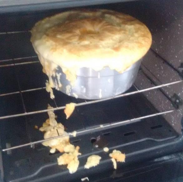 """""""São 15 minutinhos de forno""""."""