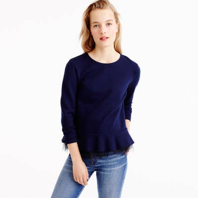 fae45527b451dd 12. 30% off select items and 40% off sale items at J.Crew.
