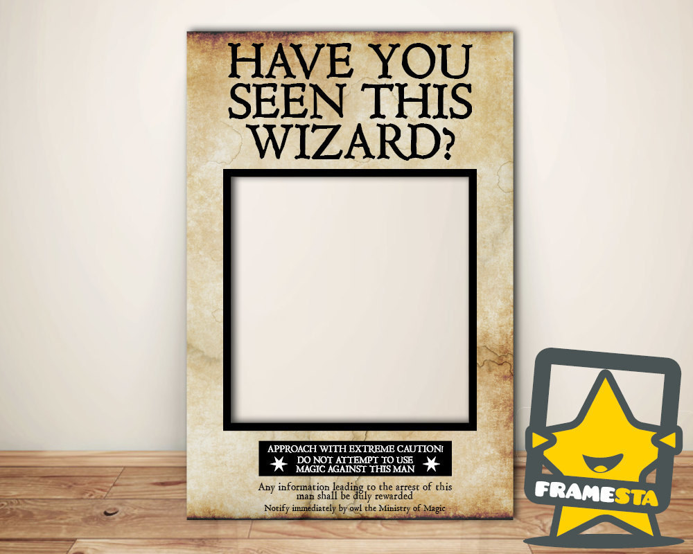 photo regarding Harry Potter Have You Seen This Wizard Printable called 27 Magical Suggestions For The Best \