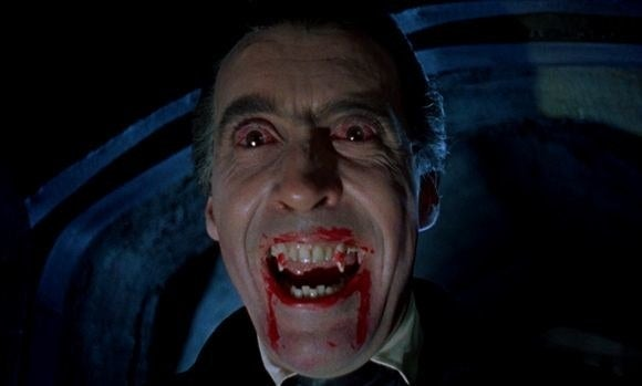 The classic tale of Dracula comes to life in this 1950's classic, where the scariest part of the film is probably the image above. (Still a great movie but definitely not nightmare-inducing.) Get the movie here.