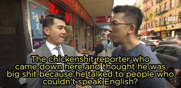 "Contrary to what Watters thinks, not everyone in Chinatown is ""polite."""