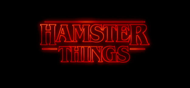 The wonderful people at Mashable Watercooler have put together the only Stranger Things parody you will ever need, starring tiny hamsters.