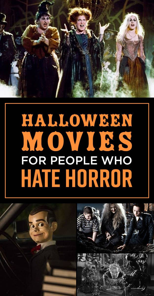19 Movies For People Who Love Halloween But Hate Horror