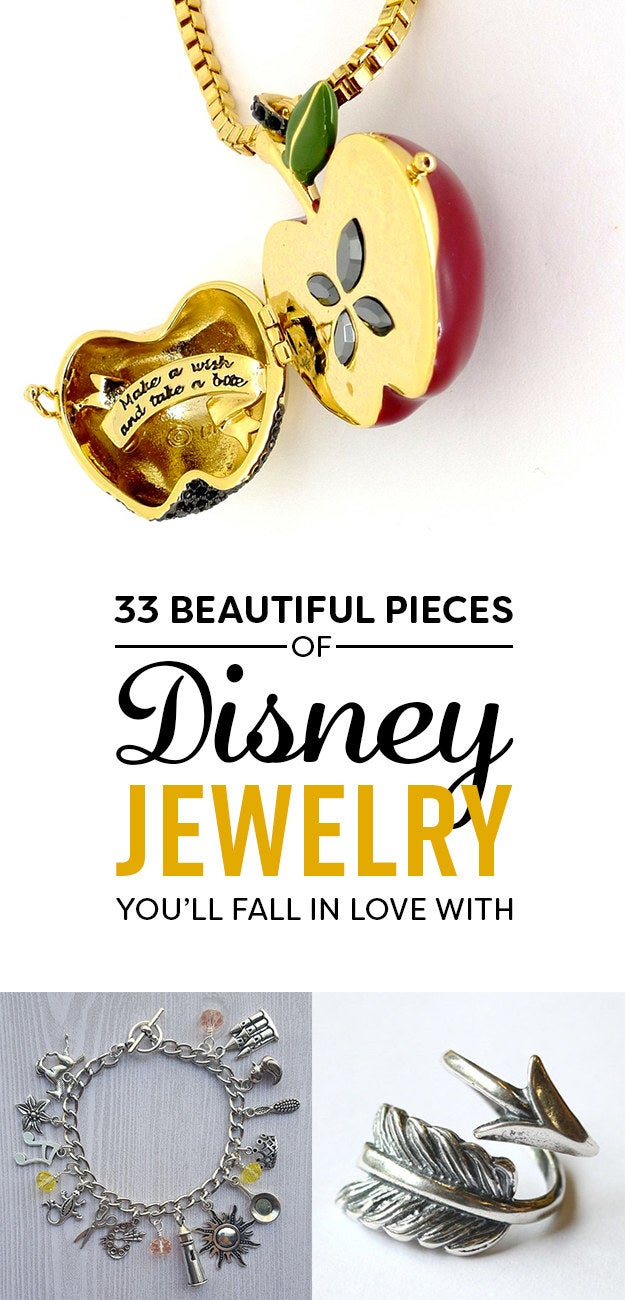 33 Gorgeous Pieces Of Disney Jewelry You Ll Want To Buy Now