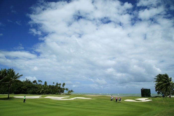 The former Trump International Golf Club in Rio Grande, Puerto Rico.