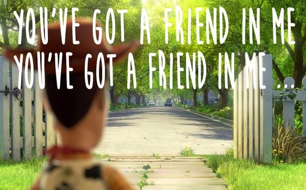 U got a friend lyrics