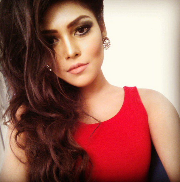 Bangladeshi model Peya Jannatul.