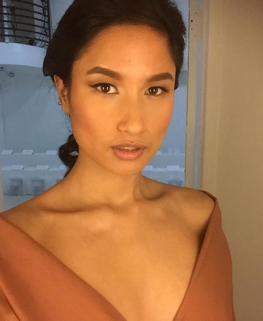 Nepalese model Varsha Thapa.