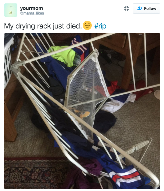 The most hard working member of your household will always be your drying rack.