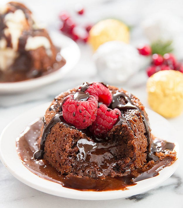 Molten Nutella Lava Cake