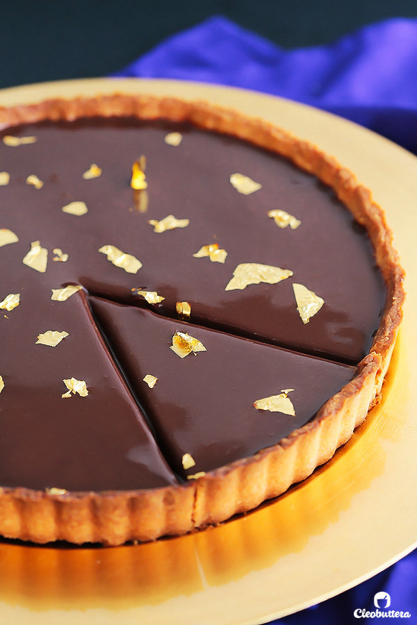 Luxurious Nutella Tart