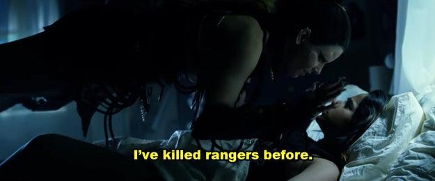 Speaking of villains, it wouldn't be a true Power Rangers film if Rita Repulsa didn't make an appearance...