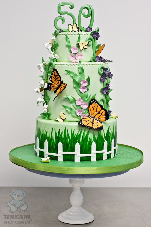 15 Ridiculously Stunning Nature Cakes That Are Almost Too