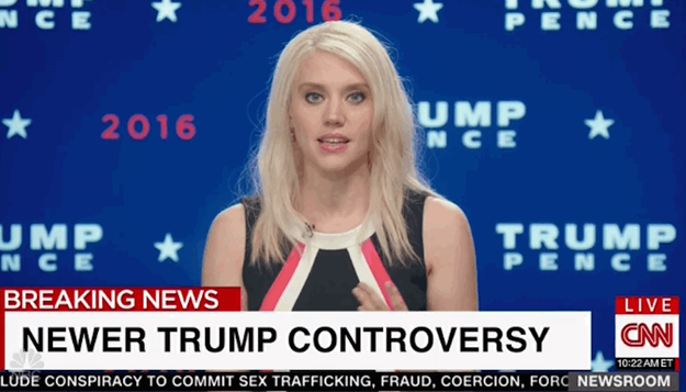 Kate McKinnon not only gave us her A+ Hillary Clinton on Saturday Night Live, but she's also now the in-house impersonator of Kellyanne Conway, Donald Trump's campaign manager.