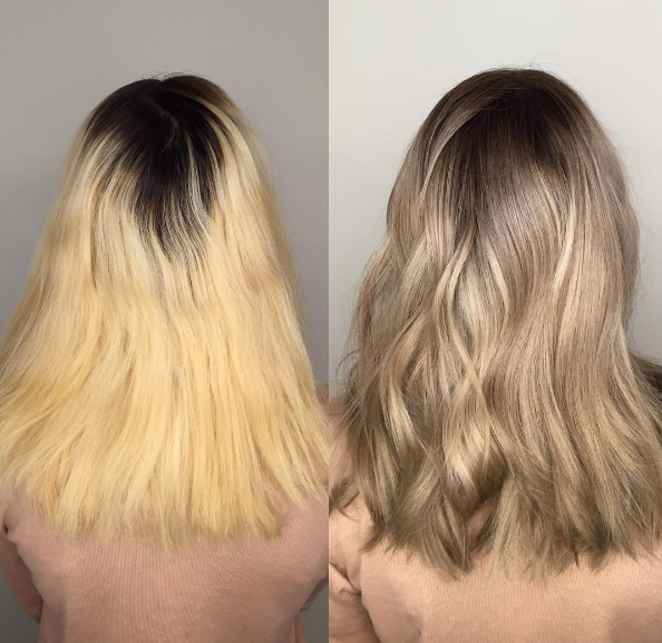 Isn't this the perfect ash blonde?