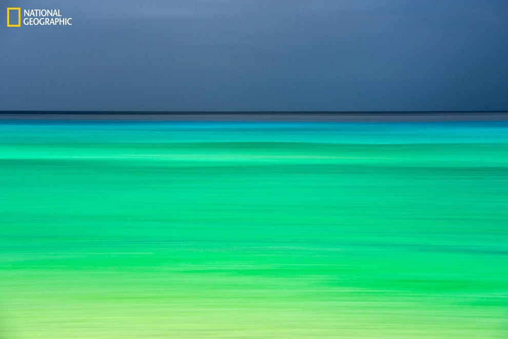 A photo that looks like a Rothko Painting, taken in Kaua'i.