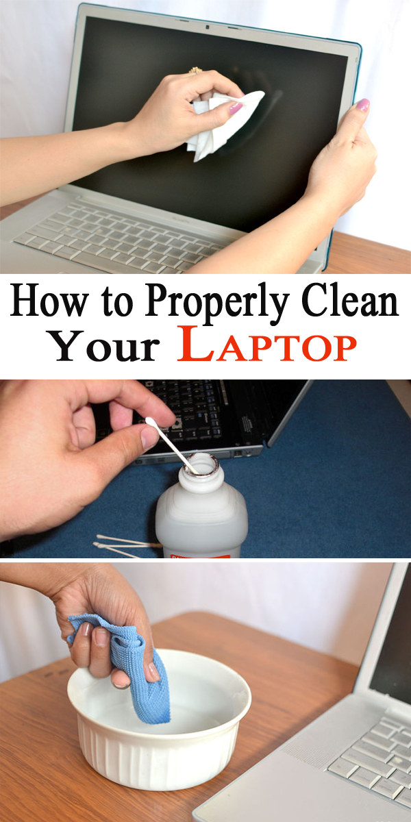 Take a few products to make sure your laptop isn't greasy anymore, and that it's not infected with any illnesses you may have had recently.