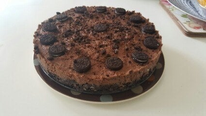 'My Oreo 'cheesecake' is completely vegan. I make this every year for my mum's birthday. It's really easy to put together and tastes delicious. Nobody can ever tell it's mainly made from silken tofu.'– sophiebean