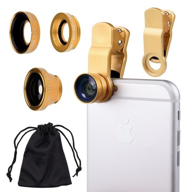 Maybe you got a fancy lens kit to take your Instagrams to the next level.